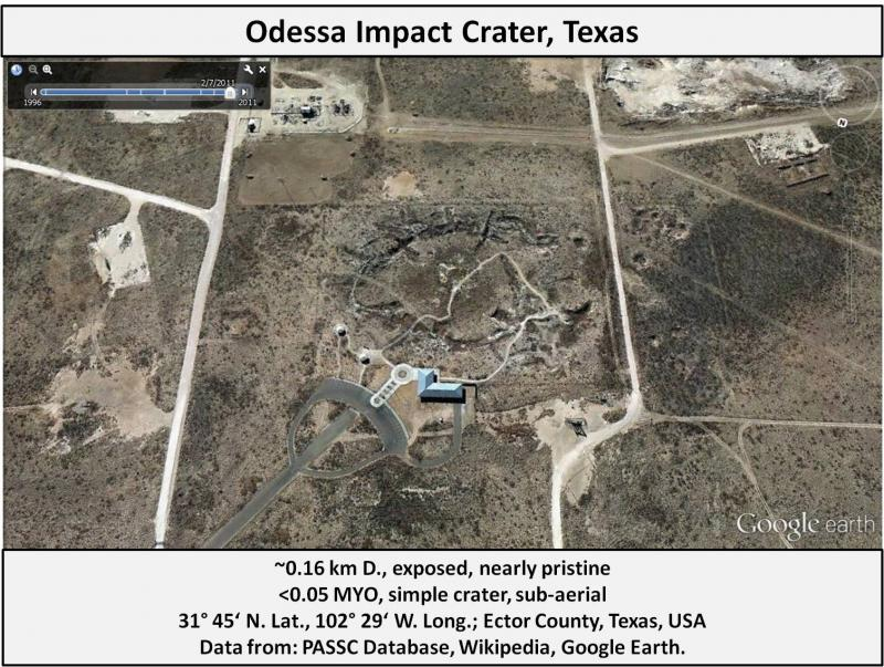 Odessa (TX) United States  city photos : odessa crater odessa is a group of 5 meteorite impact craters the ...